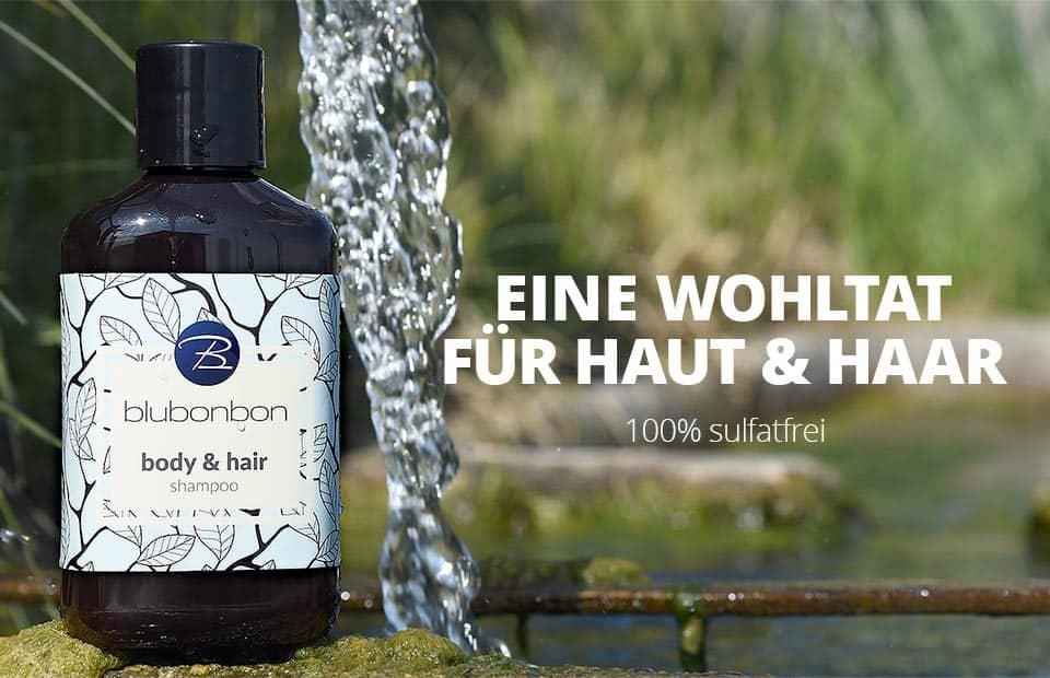 blubonbon's body & hair shampoo, garantiert sulfatfrei