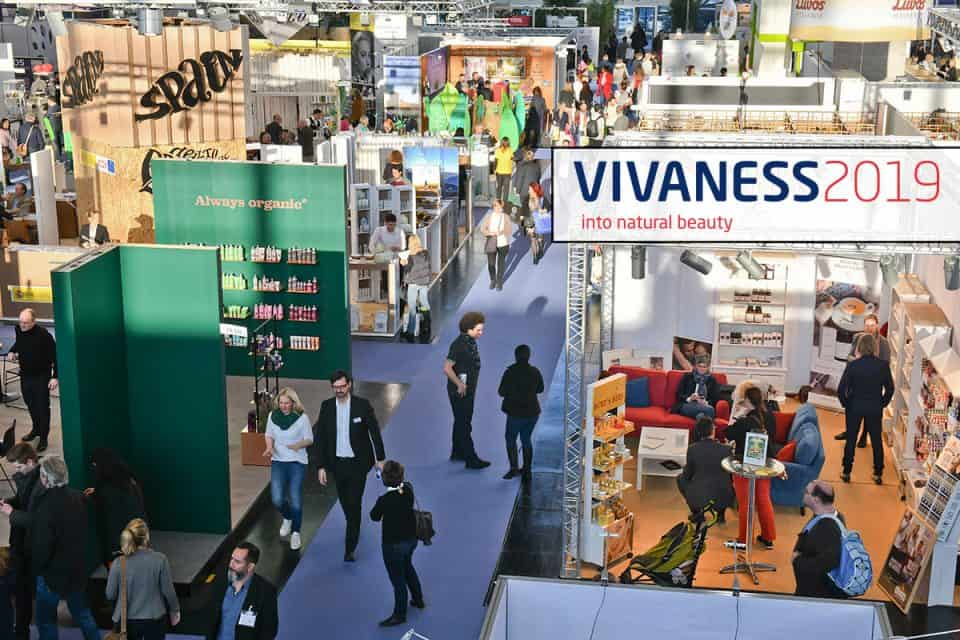 Vivaness, die internationale Fachmesse für Naturkosmetik